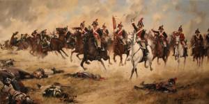 "Batalla de Bailén. Regimiento ""España"" (Augusto Ferrer Dalmau)"