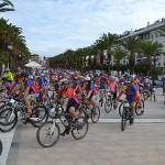 285 ciclistas participan en el Día de la Bicicleta
