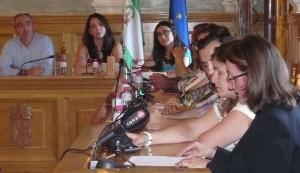 María de los Ángeles García-Muñoz cerraba la sesión extraordinaria