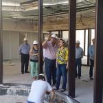 Las obras del nuevo centro de salud, al 70% de ejecución