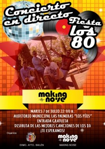 Cartel Making Noise 80 copia