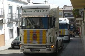 Concentración Camiones