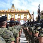 Los soldados del Córdoba nº 10 llegan a Bailén para honrar su historia