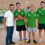 El CPD Bailén de Tenis de Mesa se adjudica el trofeo Virgen de Zocueca
