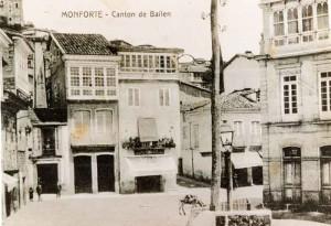 Plaza CANTÓN DE BAILÉN. Monforte de Lemos (Lugo).