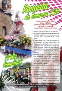 Cartel carretas Zocueca 2015 r