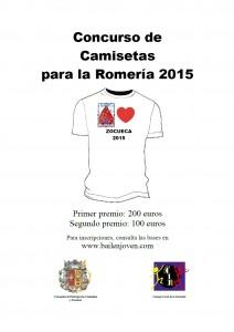 Cartel concurso camisetas 2015