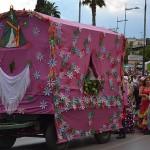 23 carretas en el desfile del sábado de Romería