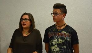 Rosa Cantarero y Sergio Henestrosa, del Grupo Joven
