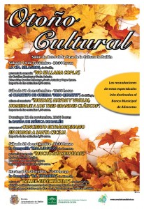 Cartel de Otoño Cultural 2015red