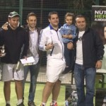Veinte parejas participan en el Torneo de Padel de Otoño