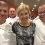Dos cocineros bailenenses participan en una cena solidaria para AFIXA