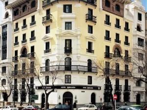 Actual NH Alonso Martínez, Calle Santa Engracia de Madrid.