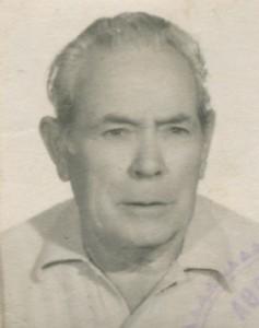 Paco Antonio Lucena Merlo (1908-1992), artífice de la anécdota.