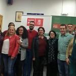 Víctor Abolafia, nuevo secretario general del PSOE bailenense