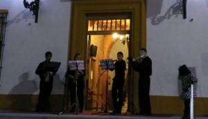 Actuación de Flaufones Quartet
