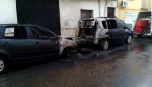 incendio coches