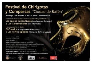 Cartel Festival Chirigotas