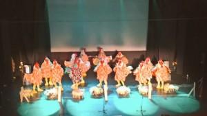 Los Cantamañanas en su actuación en La Carolina