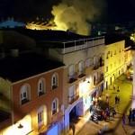 Dos incendios protagonistas del lunes de Carnaval
