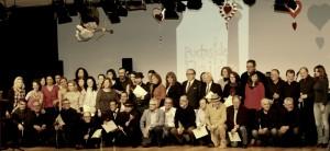 Todos los participantes en el festival en la tradicional foto de grupo. Foto: Juan Simón