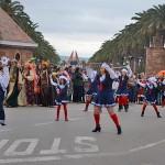 La lluvia se suma al Carnaval pero no impide el pasacalles local