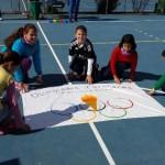 El colegio Virgen de Zocueca participa en el Olimpismo en la Escuela 2016