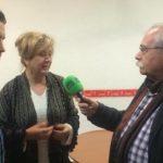 La delegada, Teresa Vega, explica la situación de la Unidad de Estancia Diurna