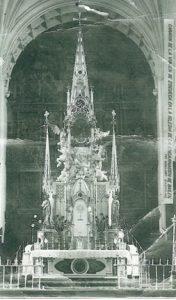 Antiguo Camarín de la Virgen de Zocueca en la Iglesia de La Encarnación.