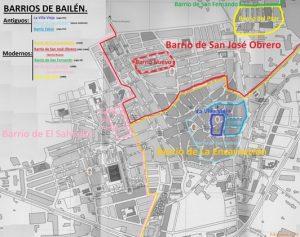 Barrios de Bailén, antiguos y modernos [10].