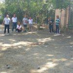 Más de un centenar de participantes en el Circuito Provincial de Petanca