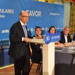 Montoro y los líderes populares jienenses abren campaña en Bailén