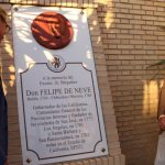 Felipe de Neve ya tiene su sitio en Bailén