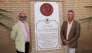 Homenaje Felipe de Neve 2