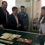 El presidente de la Diputación visita Innovarcilla