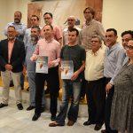 El agua, la vida y la sed se lleva el primer premio del concurso de cántaros de CERAMIBA