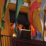 Paco Linares inaugura las fiestas demostrando su amor a Bailén