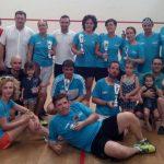 Paco Garrido y Ana Belén Pascual se llevan Torneo de Racket Fiestas 2016