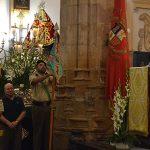 Flores y homenaje a la Patrona con el RAC Córdoba 10