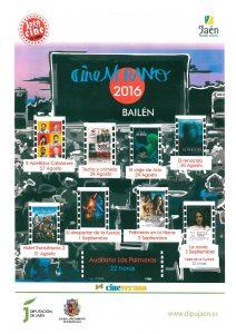Cartel Cine de Verano 2016