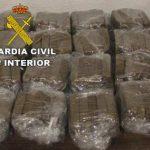 La Guardia Civil detiene en Bailén a un varón con más de 7 kilos de Hachís
