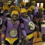 Los Ratones Coloraos presentaron a su chirigota Los Enchufaos