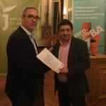 Diputación entrega una subvención para la Fábrica de Madera