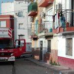 Un herido leve en un incendio declarado en un edificio de Paquita Torres