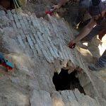 Una noria de los siglos XII o XIII bajo el Vivero