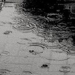 Noche de lluvia que deja 40 litros