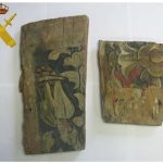 Recuperados en Bailén dos fragmentos mudéjares de una iglesia vallisoletana sacados a subasta en internet