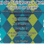 La comparsa de Subiela y la chirigota del Sheriff actuarán en el Festival carnavalesco bailenense