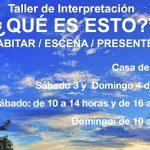 Pedro Lendínez impartirá un taller de interpretación en Bailén