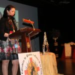 Vicky Medina emociona con su pregón en la cuenta atrás a Semana Santa